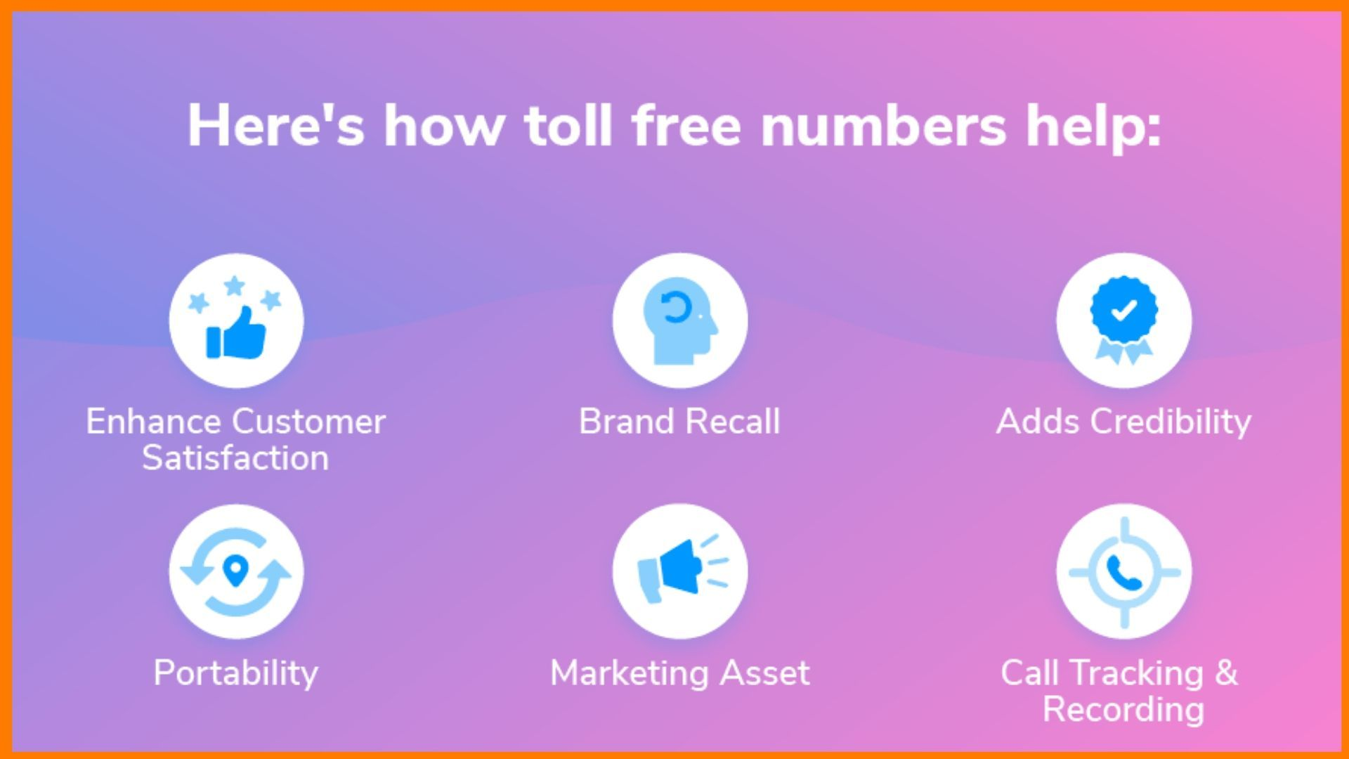 Reasons to get a toll free number
