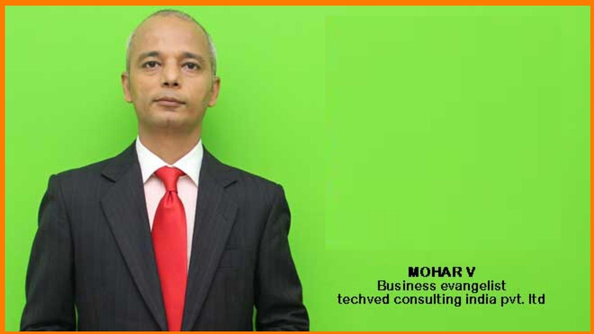 Mohar V | Business Evangelist of TAD Courses
