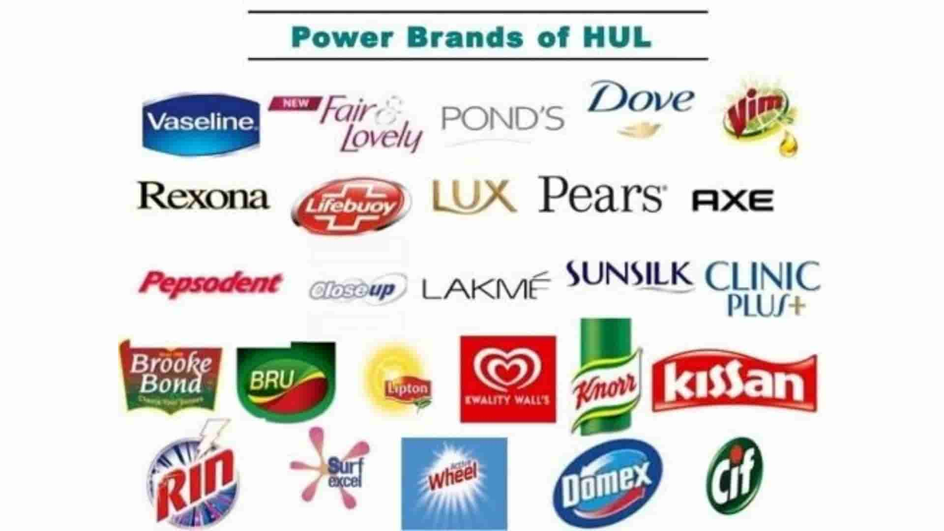 Brands And Products Of Hindustan Unilever (HUL)