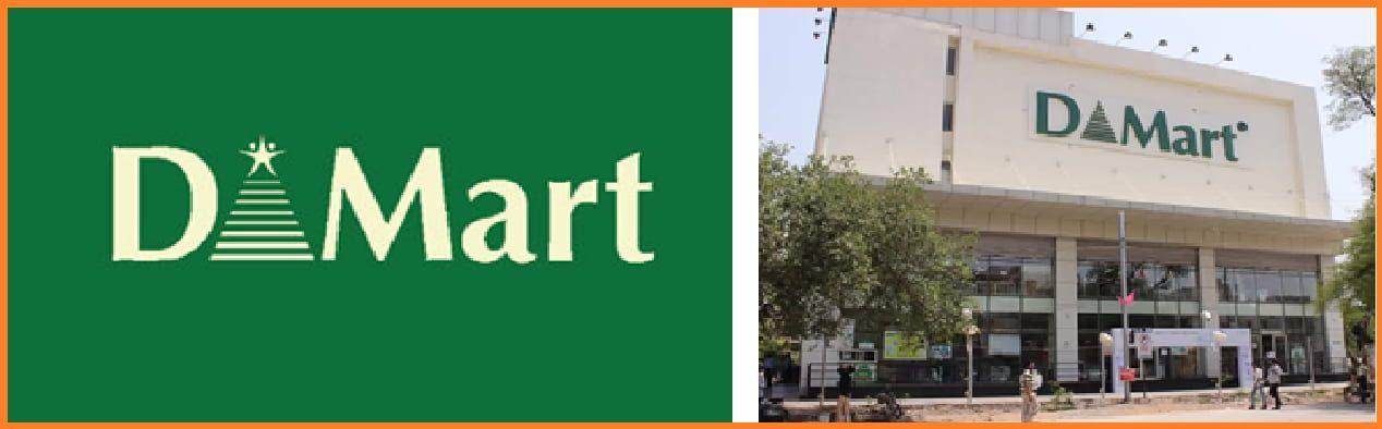 Dmart Logo | Dmart Stores in India - D'Mart Case Study