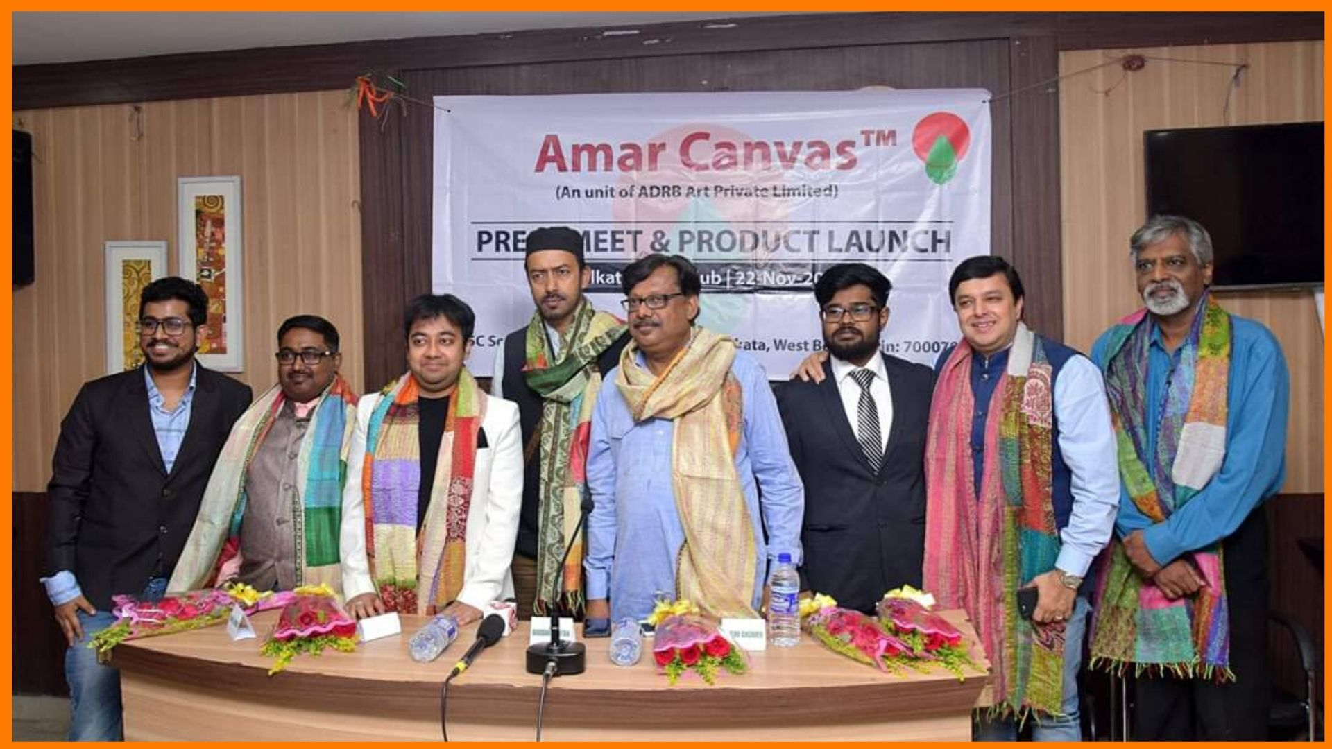 Amar Canvas Launch