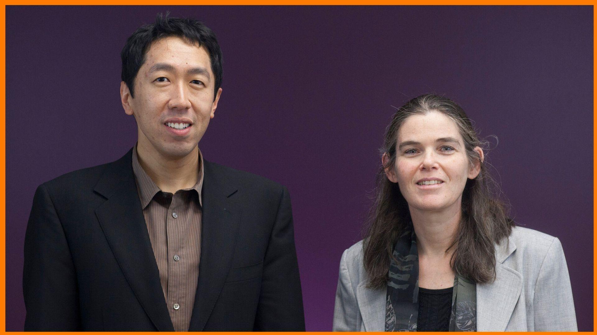 Andrew Ng and Daphne Koller