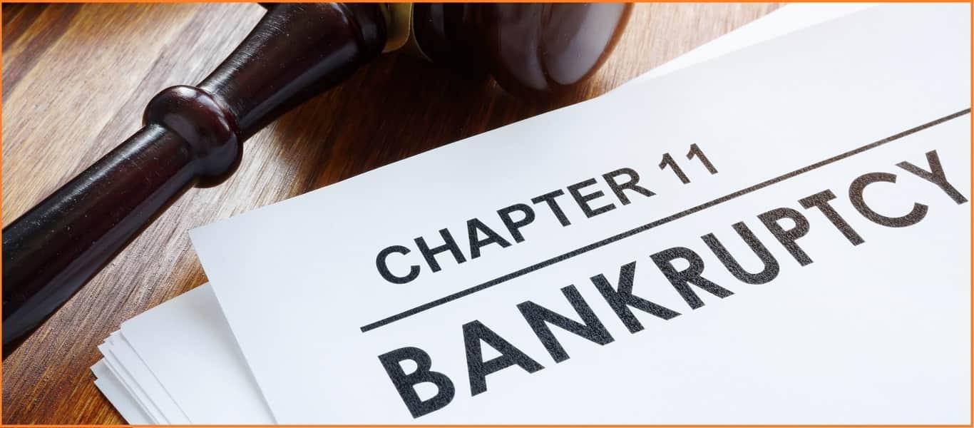 bankruptcy due to corona