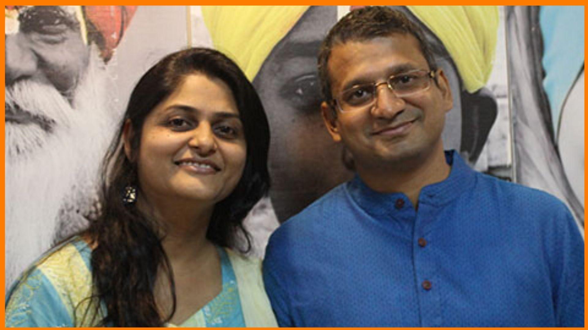 Monica Gupta and Manoj Gupta are founders of Craftsvilla