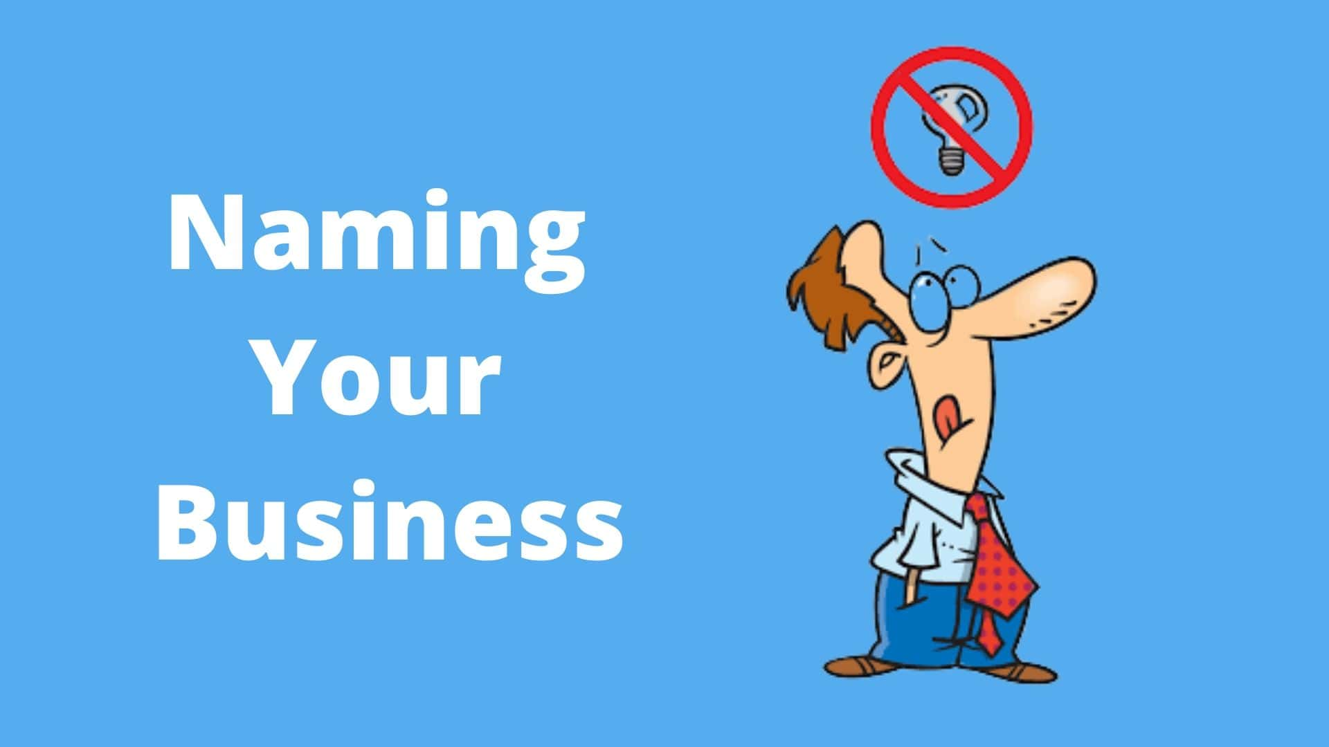Naming Your Business - Cleaning Business