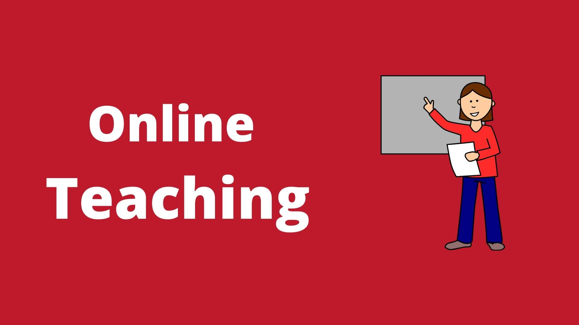 online teaching - home based business idea