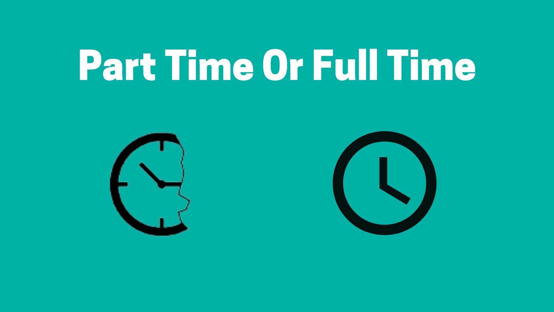Part Time Or Full Time Dog Walker