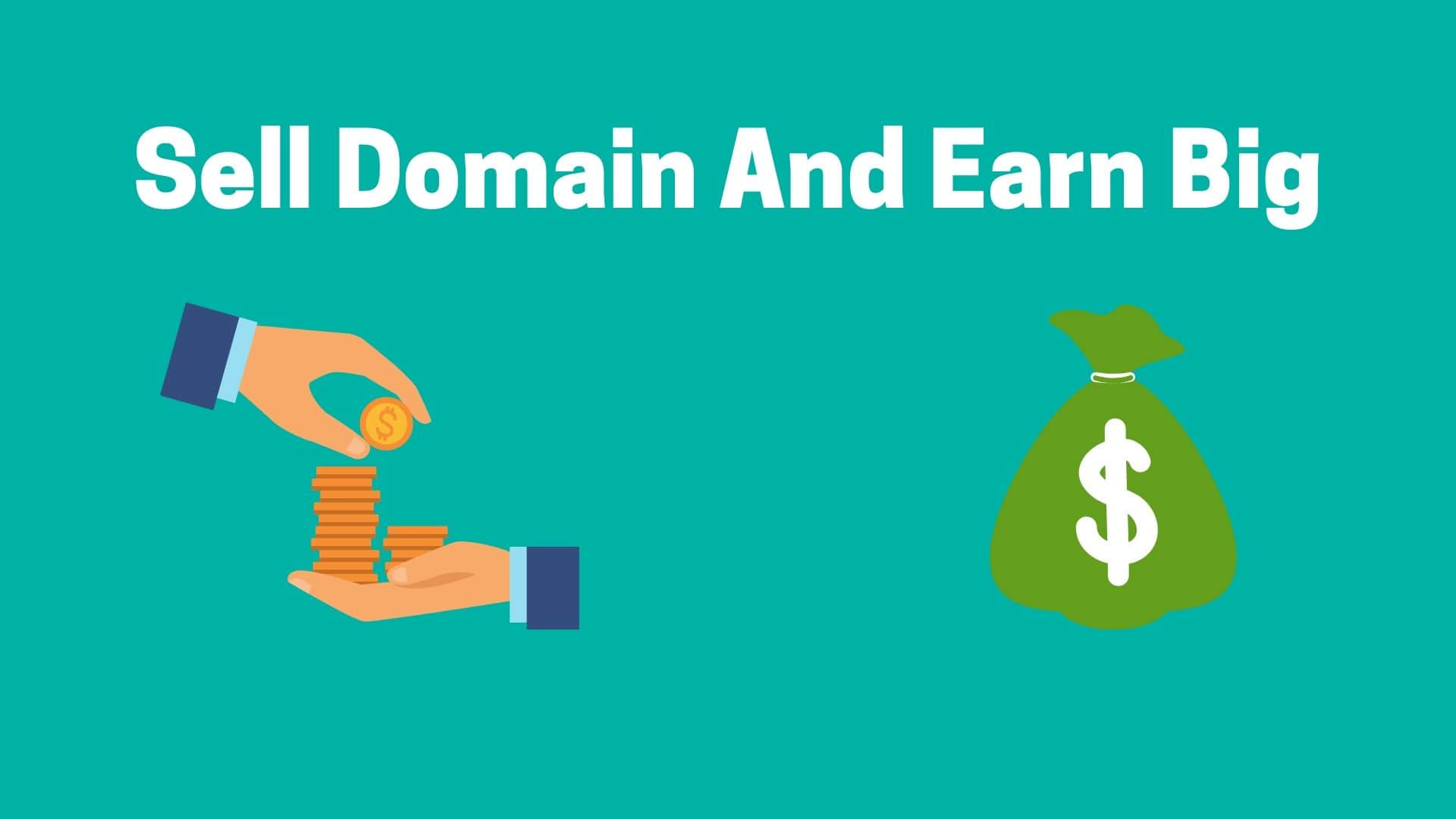 Sell Domain And Earn