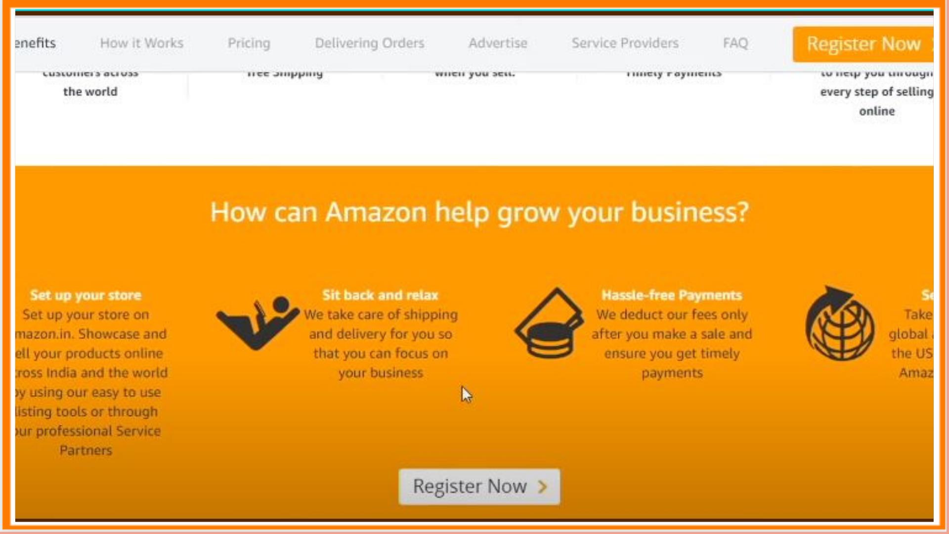 How to Sell Through Amazon India?