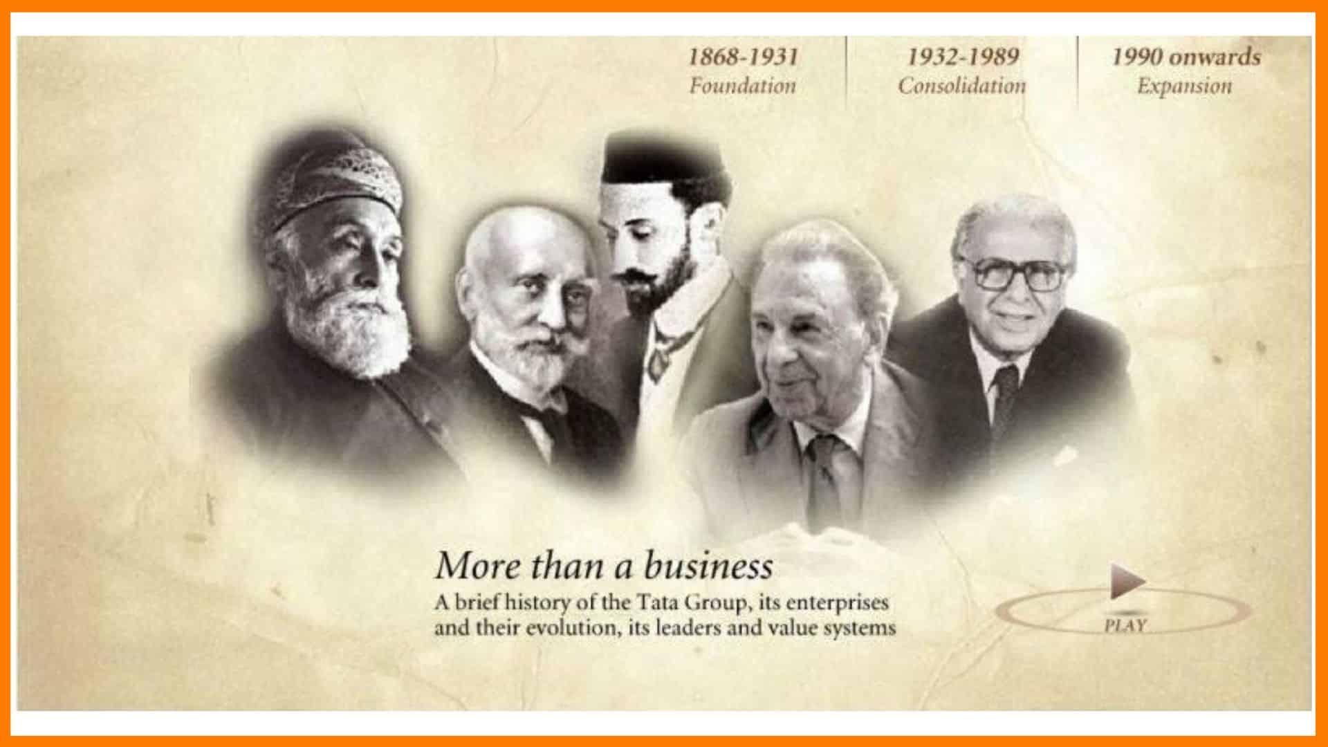 Greats Of Tata Group