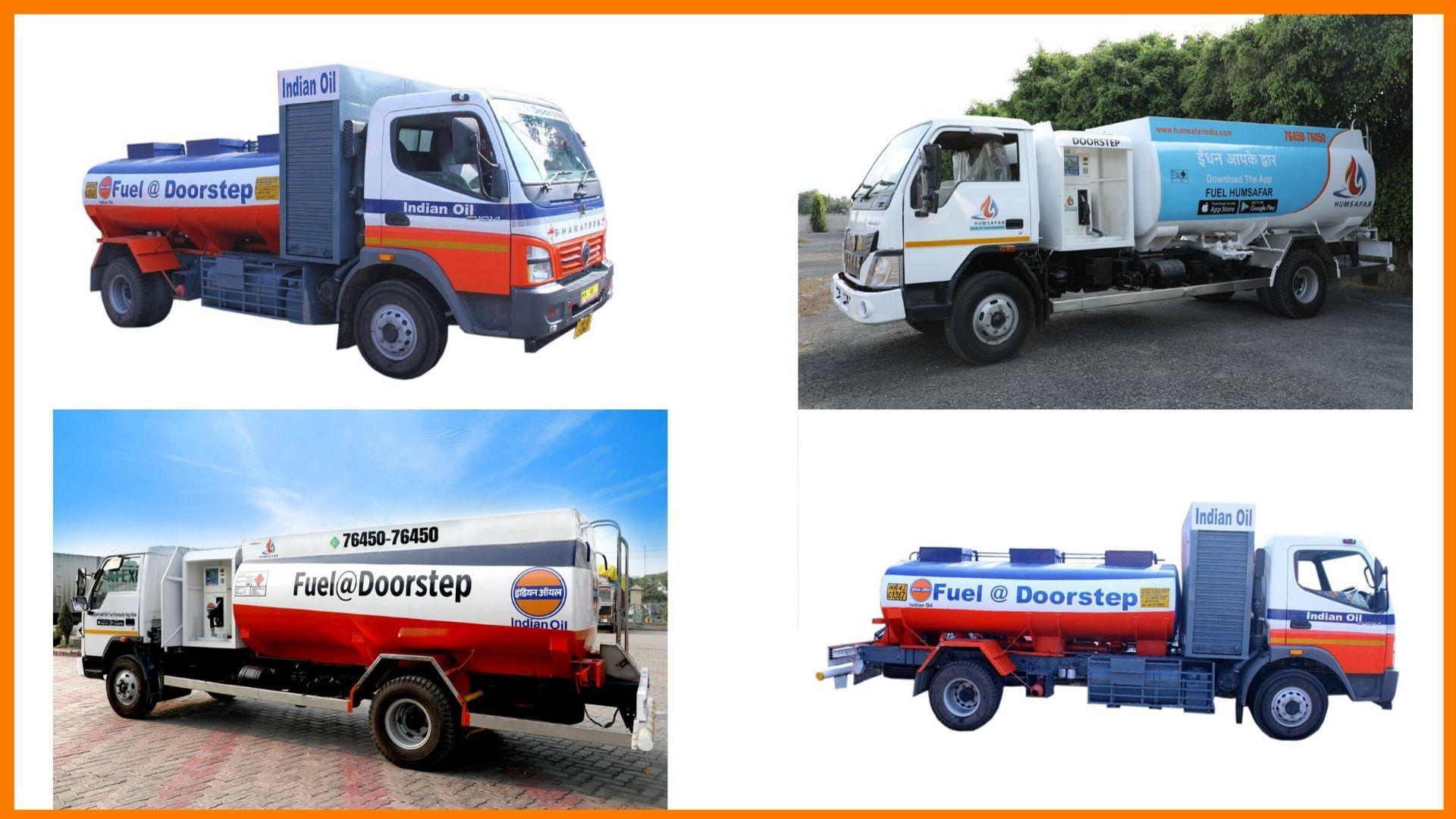 Humsafar India Delivery Trucks